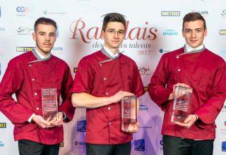 Remise de prix - Les Bouchers - Rabelais des jeunes talents 2017. Crédit photo : 2017 © Cedric-Doux.fr / Vikensi Communication / CGAD